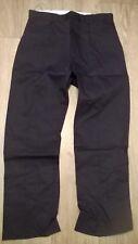"Mens workwear trousers BLACK Work, tradesman Warehouse NEW Waist 34"", Tall TR277"