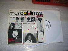 LP VA EMI Musical Times 10/80 PROMO Queen / Kate Bush / J Jackson