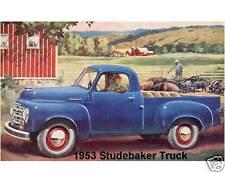 1953 Studebaker Truck   Refrigerator Magnet