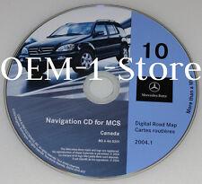 2000 01 02 MERCEDES ML320 ML430 ML500 ML55 NAVIGATION MAP NAV DISC CD 10 CANADA