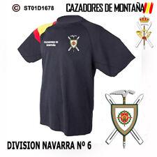 CAMISETAS TECNICAS CAZADORES DE MONTAÑA: DIVISION NAVARRA Nº6 M1