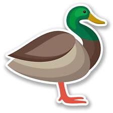 2 x Duck Vinyl Sticker Decal iPad Laptop Car Motorbike Bird Funny Gift #5818