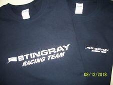 Two Stingray Racing Team Boat Screen Printed Navy T-Shirts 6 oz.100% Cotton