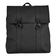 New Mens Rains Black Messenger Polyester Backpack Bags
