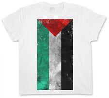 PALESTINE FLAG VINTAGE T-SHIRT - Palästina Free Arafat Gaza Fahne Flagge Israel
