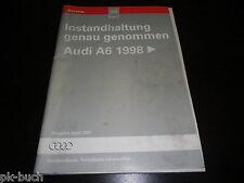 Werkstatthandbuch Instandhaltung genau genommen Audi A6 C5 ab Baujahr 1998