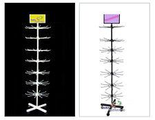 Verkaufsständer Warenständer mit 7 Etage drehbar  4 Füßen mit Rollen