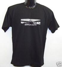 Fun T-Shirt * Berlin City Schwarz S - XXL