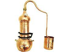 Kolonnenbrennerei aus Kupfer 10 Liter mit Thermometer - Destille ätherische Öle