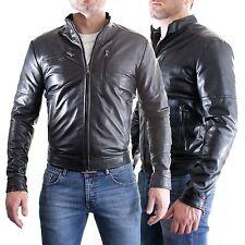 aus Leder 100% o Haut PU Jacke Bomber Mann Männer Leder Jacke T6a-T6b