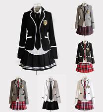 Cosplay Kostüm Lolita Marine Manga Schul-Uniform Student Japan Britisch School