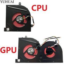 NEW CPU GPU Cooling Fan MSI GS63 GS63VR GS73 GS73VR GS62 GS62VR MS-16K2 MS-17B