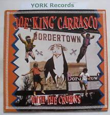 "JOE ""KING"" CARRASCO & THE CROWNS - Bordertown - Ex LP"