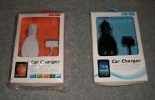 CC24-TAB Car Charger for Apple iPhone, iPod, HTC, Galaxy Tab P1000,MP3, MP4 BL/W