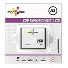 Tarjeta de memoria Maxflash 2 gb CF Compact Flash 120x velocidad alta velocidad