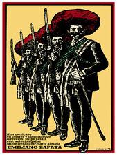 Emiliano Zapata Mexican vintage Film POSTER.Graphic Design.Art Decoration.3794