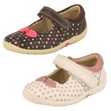 Filles Clarks Babies Premières Chaussures - Doucement à Pois