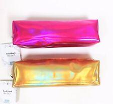 New Metallic Nylon Bag,Wallet Cosmetic Case,Travel Bag,Pencil Holder
