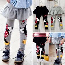 Bambine Mickey Minnie elastico abito pantaloni gonna Ghette dei TORTA