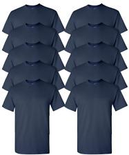 Gildan Adult T-Shirts 10-Pack DryBlend 50/50 cotton/polyester Tagless S-3XL G800