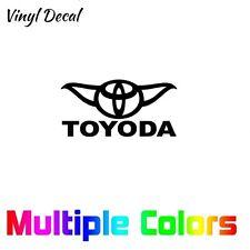Toyoda Sticker | Car Toyota Window Vinyl Die Cut Decal *Multiple options*