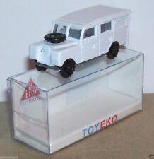 MICRO TOY EKO TOYEKO HO 1/86 1/87 MADE SPAIN LAND ROVER LONG REF 2116 IN BOX