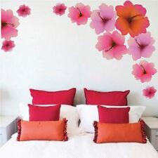 Hibiscus Flower Wallpaper Mural Beautiful Flowers Wall Living Room Art, n05