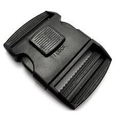 "Lockable plastic side release buckle for 50 mm 2"" webbing Security lock APG"