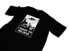 I want to believe tShirt  X files UFO poster tshirt