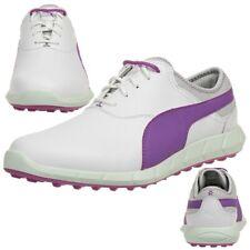 Puma Ignite Golf Spikeless Damen Golfschuhe Golf Leder weiß 189109 02