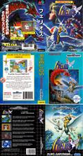 PHELIOS Sega Mega Drive PAL NTSC JP Genesis Caja de Sustitución Arte caso inserto