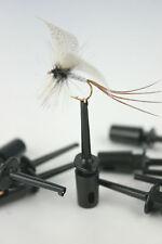 X10, 20,50, FLY Tyers Clip/Supporti per medicazione & la visualizzazione di pesca Mosche