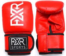 FXR Sportive in Pelle Borsa Guantoni GUANTI BOXE MMA TRAINING MUAY THAI S-M-L-XL