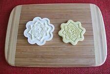 Mandala 2 Piece Cookie Cutter Cake Topper Fondant Cutter Cupcake Topper Food