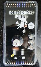 """1pc 1/2"""" 12mm Titanium Anodized LED Blinking Ear Plug"""