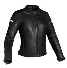 Richa DAYTONA Femmes Classique moto cuir Veste Noir