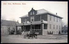 McPherson Kansas ~ 1900's ELKS' CLUB ~