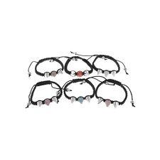 Friendship bracelet Diamante stud choice of colour stones Equiblibrium New
