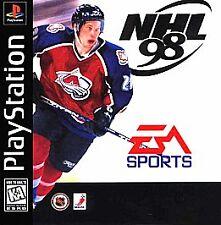 NHL 98 PlayStation, Playstation Video Games