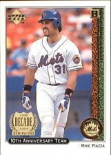 1999 Upper Deck 10th Anniversary Team Baseball Cards Pick From List