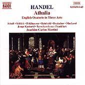 Handel - Athalia / E. Scholl · Schlick · Holzhausen · Reinhold · Brutscher · Mac