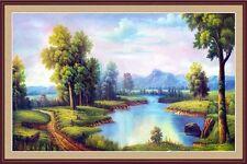 3D Natural HD painting 0749 Wall Paper Wall Print Decal Wall Deco AJ WALLPAPER