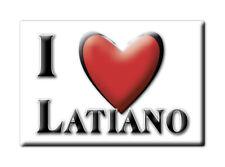 CALAMITA PUGLIA ITALIA FRIDGE MAGNET MAGNETE SOUVENIR I LOVE LATIANO (BR)