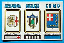 FIGURINA CALCIATORI PANINI 1978/79 SCUDETTO -SERIE-C1 n.512 NUOVA