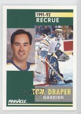 1991-92 Pinnacle French #341 Tom Draper Buffalo Sabres Montreal Canadiens Card