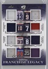 2015 Leaf In the Game Genesis Franchise Legacy Purple #FL-08 Winnipeg Jets Card