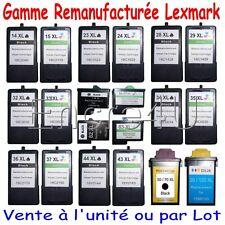 Cartouches d'encre Lexmark 14 15 16 17 23 24 26 27 28 29 32 33 34 35 36 37 43 44