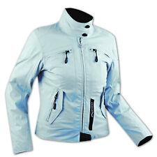 Moto chaqueta Mujeres impermeable interno extraíble CE protectores Azul