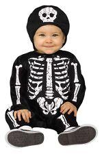 Skeleton Baby Bones Costume Toddler Halloween Fancy Dress Costume 6 - 24 Months
