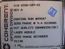 CO2 Laser Mirror Zero Phase @9.4 microns CQE